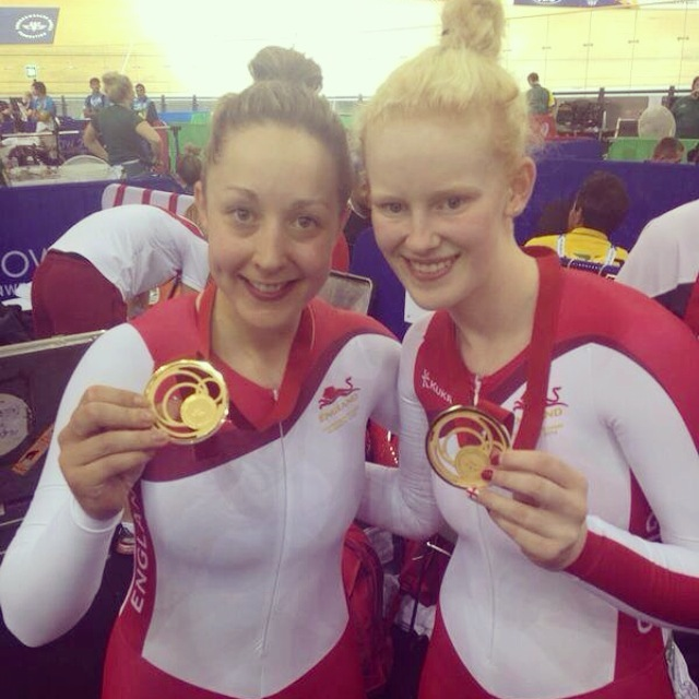 Helen and Sophie 2014 Commonwealth games